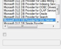 Verbinden database SQL Server Crystal Reports