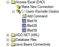 Verbinding Excel Crystal Reports
