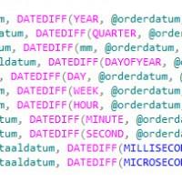 DateDiff SQL