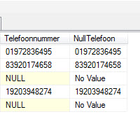 Rfunctie IsNull SQL